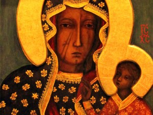 Icon-of-Our-Lady-of-Czestochowa-the-Black-Madonna-of-Poland